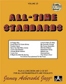 Jamey Aebersold Jazz -- All-Time Standards, Vol 25: Book & 2 CDs
