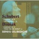 シューベルト:交響曲 第8番「未完成」 ドヴォルザーク:交響曲 第9番「新世界より」