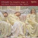 【輸入盤】歌曲全集第8集〜ツェツィーリエ、4つの最後の歌(ピアノ版)、他 ニッキー・スペンス、レベッカ・エヴァ…