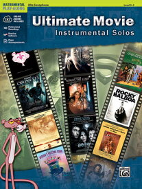 Ultimate Movie Instrumental Solos: Alto Sax, Book & CD ULT MVIE INSTRMNT ALTO SX L2-3 (Pop Instrumental Solo) [ Bill Galliford ]