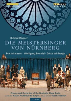 【輸入盤】『ニュルンベルクのマイスタージンガー』全曲 フリードリヒ演出、フリューベック・デ・ブルゴス&ベルリン・ドイツ・オペラ(1995 [ ワーグナー(1813-1883) ]