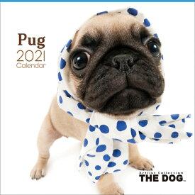 パグ(2021年1月始まりカレンダー)