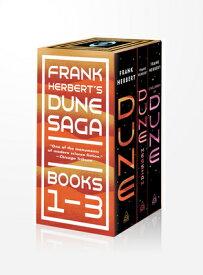 Frank Herbert's Dune Saga 3-Book Boxed Set: Dune, Dune Messiah, and Children of Dune FRANK HERBERTS DUNE SAGA 3-BK [ Frank Herbert ]