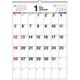 書き込み式シンプルカレンダー【B3タテ】(2020年) ([カレンダー])