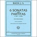【輸入楽譜】バッハ, Johann Sebastian: 無伴奏バイオリンのためのソナタとパルティータ BWV 1001-1006/ガラミアン…