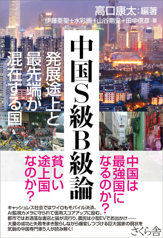 中国S級B級論 発展途上と最先端が混在する国 [ 高口康太 ]