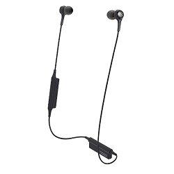 オーディオテクニカ Bluetooth インナーイヤーヘッドホン ブラック ATH-CK200BT BK
