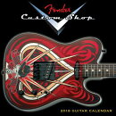 Fender Custom Shop 2018 Guitar Calendar