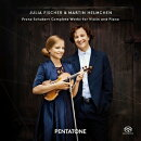 【輸入盤】ヴァイオリンとピアノのための作品全集 ユリア・フィッシャー、ヘルムヘン(2SACD)