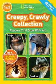 Creepy, Crawly Collection, Levels 1 & 2 NATL GEO KIDS CREEPY CRAWLY CO (National Geographic Kids) [ National Geographic ]