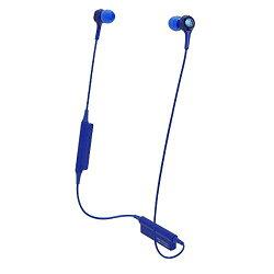 オーディオテクニカ Bluetooth インナーイヤーヘッドホン ブルー ATH-CK200BT BL