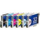 IC6CL32互換インクカートリッジ 6色パック PLE-E326P プレジール
