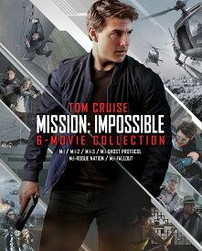 ミッション:インポッシブル 6ムービー・ブルーレイ・コレクション(初回限定生産)ボーナスブルーレイ付き 7枚組【Blu-ray】 [ トム・クルーズ ]