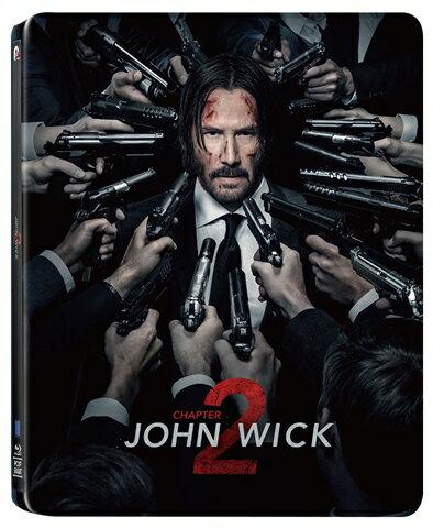 ジョン・ウィック:チャプター2 コレクターズ・エディション(数量限定スチールブック仕様・日本オリジナルデザイン)【Blu-ray】 [ キアヌ・リーブス ]