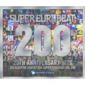 スーパーユーロビート VOL.200 (2CD+DVD) [ (オムニバス) ]