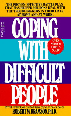 COPING WITH DIFFICULT PEOPLE(A)【バーゲンブック】