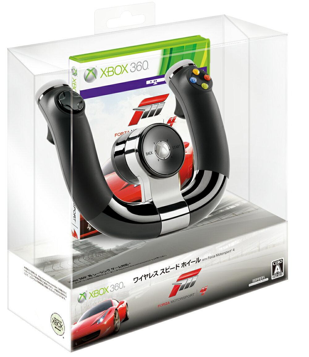 Xbox360 ワイヤレス スピード ホイール WITH Forza Motorsport 4