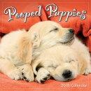 Pooped Puppies 2018 Mini Wall Calendar