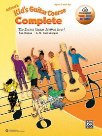 Alfred's Kid's Guitar Course Complete: The Easiest Guitar Method Ever!, Book & Online Video/Audio/So ALFREDS KIDS GUITAR COURSE COM [ Ron Manus ]