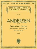 【輸入楽譜】アンデルセン, Joachim: 24の練習曲 Op.21