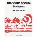 【輸入楽譜】ベーム, Theobald: 24のカプリス Op.26