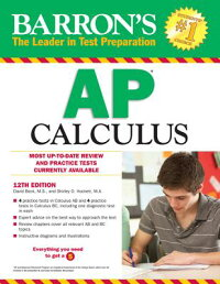 Barron'sAPCalculus,12thEdition[DavidBock]