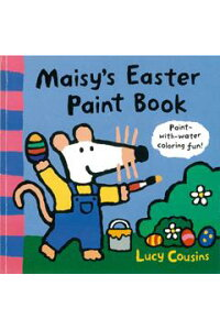 【バーゲン本】_Maisy's_Easter_Paint_Book_[洋書]