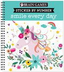Brain Games - Sticker by Number: Smile Every Day