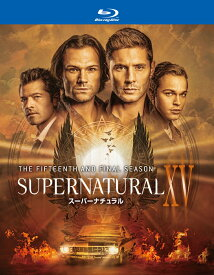 SUPERNATURAL XV <ファイナル・シーズン>ブルーレイ コンプリート・ボックス(4枚組)【Blu-ray】 [ ジャレッド・パダレッキ ]