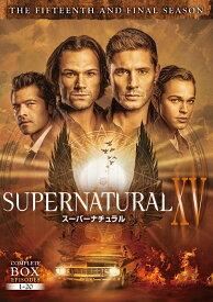 SUPERNATURAL XV <ファイナル・シーズン>DVD コンプリート・ボックス(5枚組) [ ジャレッド・パダレッキ ]