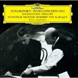 チャイコフスキー:ピアノ協奏曲第1番 ラフマニノフ:前奏曲第3・6・8・12・13番 [ リヒテル カラヤン ]