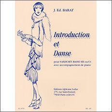 【輸入楽譜】バラ, Jacques Ed.: 序奏と舞曲