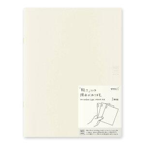 ミドリ ノート MDノート ライト A4変形判 無罫 3冊 15215006 ノート (文具(Stationary))