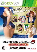 DEAD OR ALIVE 5 Ultimate コレクターズエディション Xbox360版