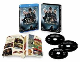 """ファンタスティック・ビーストと黒い魔法使いの誕生 3D&2Dエクステンデッド版ブルーレイセット(3枚組/""""MINALIMA""""豪華ブックレット付)(初回仕様)【3D Blu-ray】 [ エディ・レッドメイン ]"""