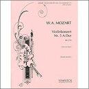 【輸入楽譜】モーツァルト, Wolfgang Amadeus: バイオリン協奏曲 第5番 イ長調 KV 219/ヨアヒム編