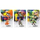 amiibo スプラトゥーンシリーズ 限定色3種セット [ガール【ライムグリーン】/ボーイ【パープル】/イカ【オレンジ】]