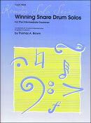 【輸入楽譜】ブラウン, Tom: 中級者のためのスネア・ドラム・ソロ受賞曲集
