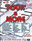 Jamey Aebersold Jazz -- 'four' & More, Vol 65: For All Instruments, Book & CD