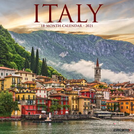Italy 2021 Wall Calendar ITALY 2021 WALL CAL [ Willow Creek Press ]