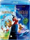 ファンタジア ダイヤモンド・コレクション&ファンタジア 2000 ブルーレイ・セット【Blu-ray】 【Disneyzone】 [ 羽佐間道夫 ]