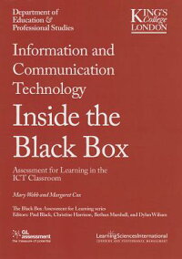 InformationandCommunicationTechnology:AssessmentforLearningintheIctClassroom[MaryWebb]