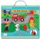 Soft Shapes to the Rescue Chunky Puzzle Playset: Foam Puzzle and Playset