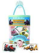 Soft Shapes Trucks Tub Stickers