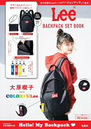 Lee BACKPACK SET BOOK RED version