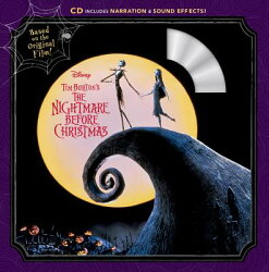 Tim Burton's the Nightmare Before Christmas Book & CD
