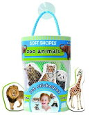 Soft Shapes Zoo Animals Stickers