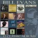 【輸入盤】12 Classic Albums: 1956-62 (6CD) [ Bill Evans (piano) ]