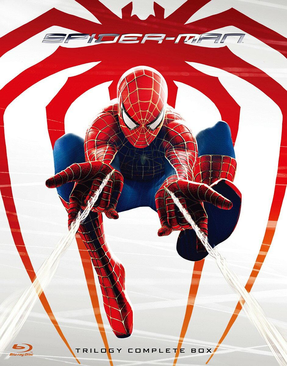 スパイダーマン トリロジー ブルーレイ コンプリートBOX【Blu-ray】 [ トビー・マグワイア ]