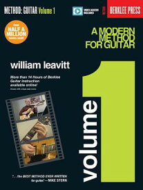 A Modern Method for Guitar - Volume 1: Book with More Than 14 Hours of Berklee Video Guitar Instruct MODERN METHOD FOR GUITAR - V01 [ William Leavitt ]